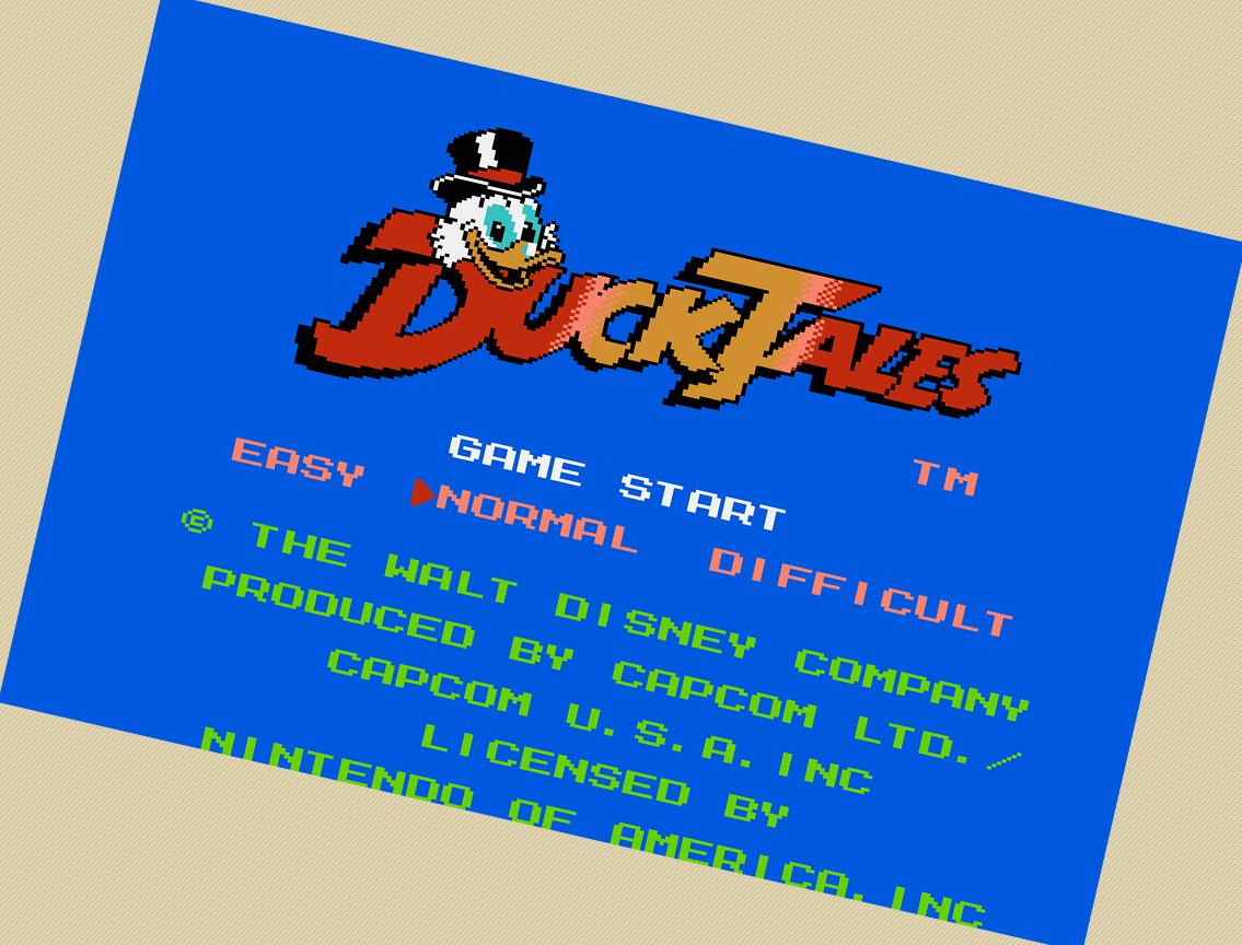 Скачать Duck Tales 2 Dendy - hanskachat
